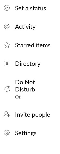 do not disturb on