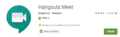 how to use google meet on kindle fire - hangouts meet