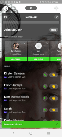 House Party App How Many Guests You Have
