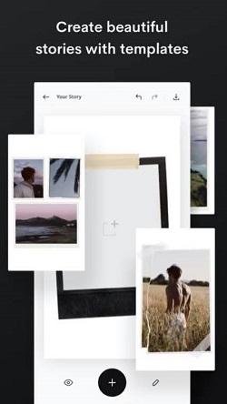Instagram-Geschichten fügen mehrere Bilder hinzu