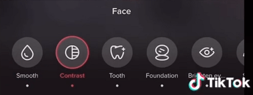 How to change the eye color in Tik Tok videos