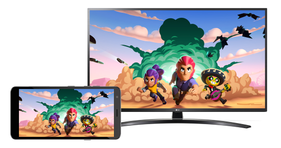Play Android on TV