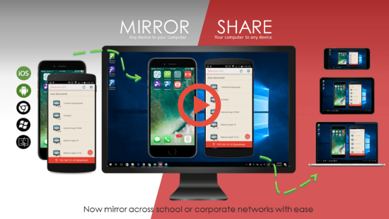 Mirror iPhone to Chromebook As