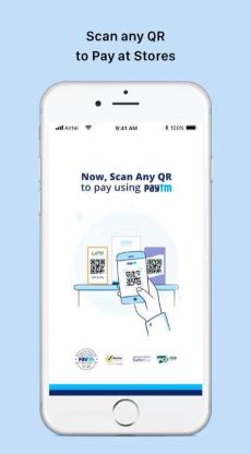 Paytm account on Android