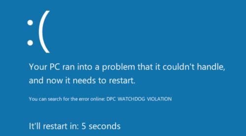 fix watchdog error