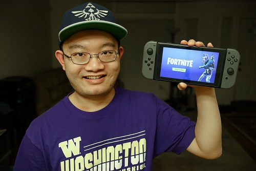 nintendo switch fortnite how to edit faster