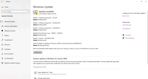 update drivers in windows 10