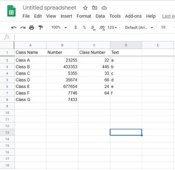 google sheets make row sticky