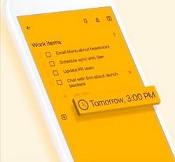 Delete Checked Items in Google Keep