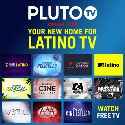 Language on Pluto TV
