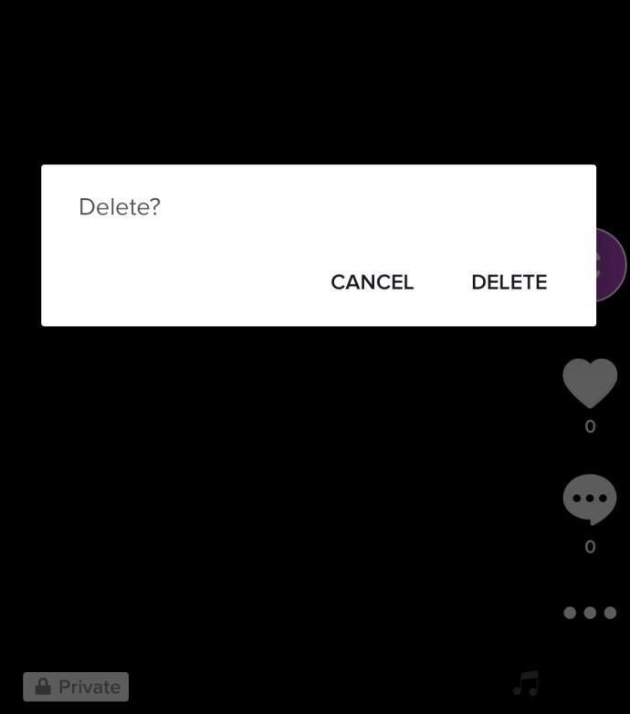 Como excluir todos os seus posts Tik Tok