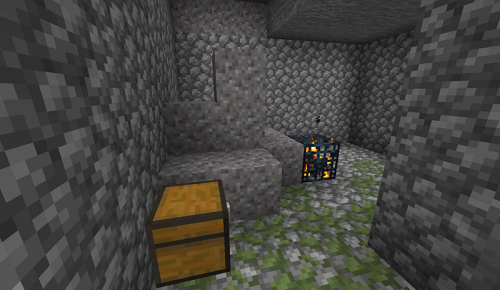Dungeons in Minecraft