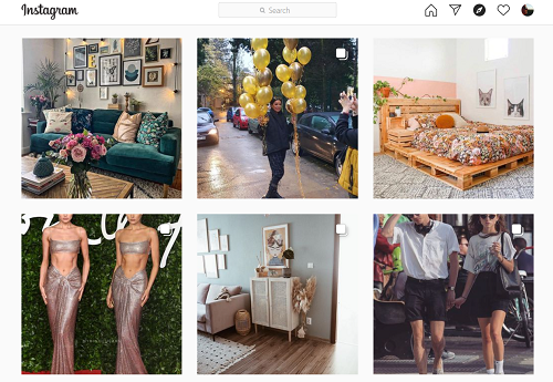 Instagram Как найти контакт