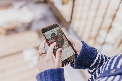 Измените цвет выделения в истории Instagram