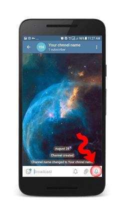 Telegram Отправить сообщение