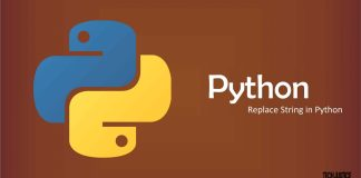 Replace String in Python tech justice