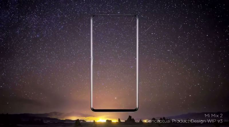 The Xiaomi Mi MIX 2 will take 'bezelless' to a whole new level