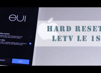 hard reset letv 1s tech justice