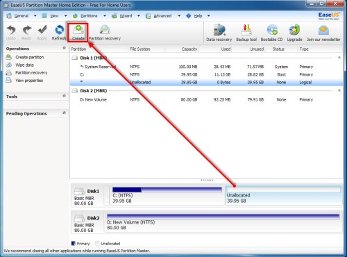 EaseUS Partition Master Home Edition - 07