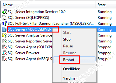SQL Server Login Failed Error 18456