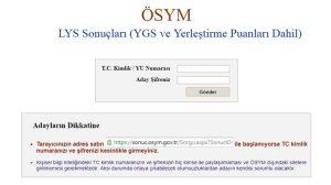 Son dakika! LYS tercih sonuçları resmi siteden açıklandı