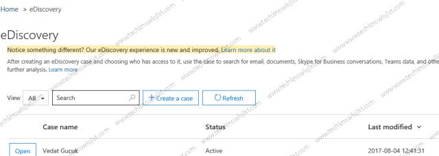 Office 365 Kullanıcı Mailbox PST Export İşlemi