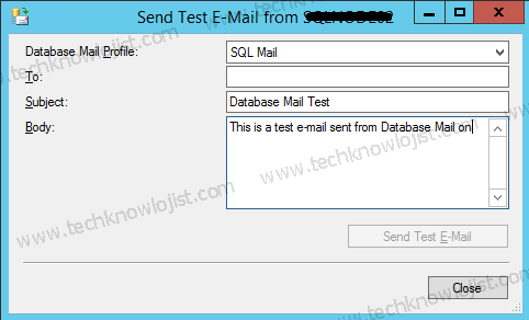 SQL Server Database Mail Konfigürasyonu