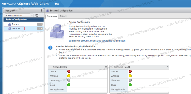 vCenter Server Appliance Logları Syslog Server Yönlendirme