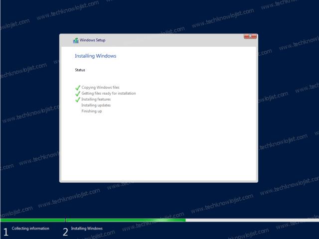 Windows Server 2022 Installation