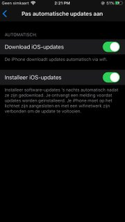 Download iOS updates automatically