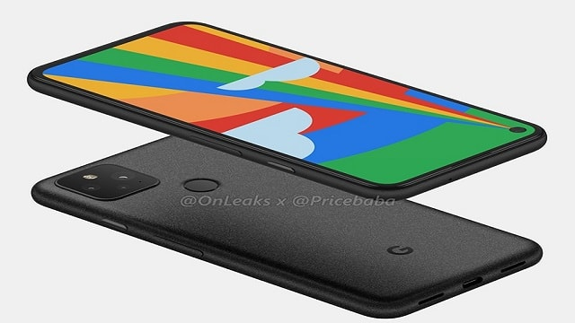 Google Pixel 5 Fingerprint scanner