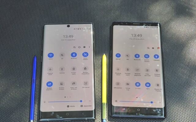 note 9 vs note 10