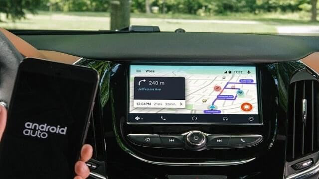 Work profiles in Android Auto