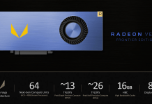 Radeon Vega Frontier Edition graphics card from AMD