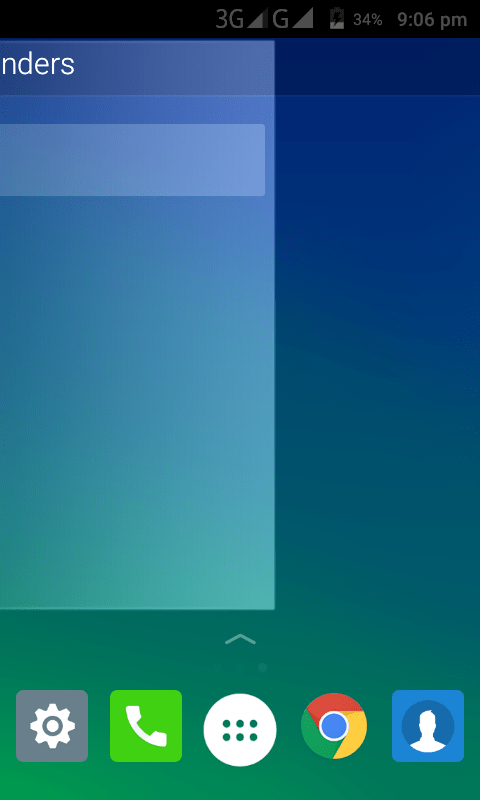 End-Screen transition