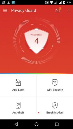 LEO Privacy Guard app lockers