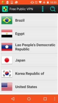 free public vpn - free vpn for android