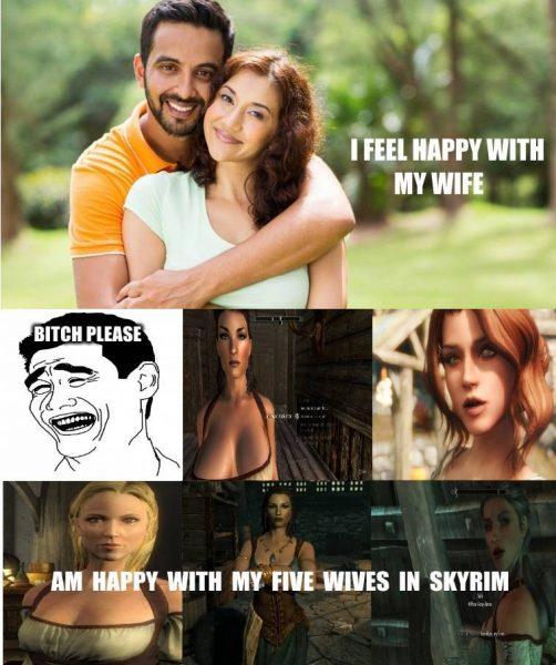 make your own skyrim meme