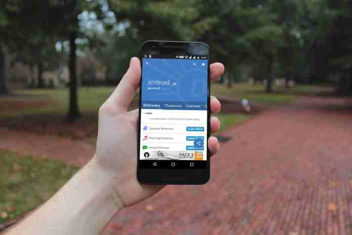 dictionary apps for Android