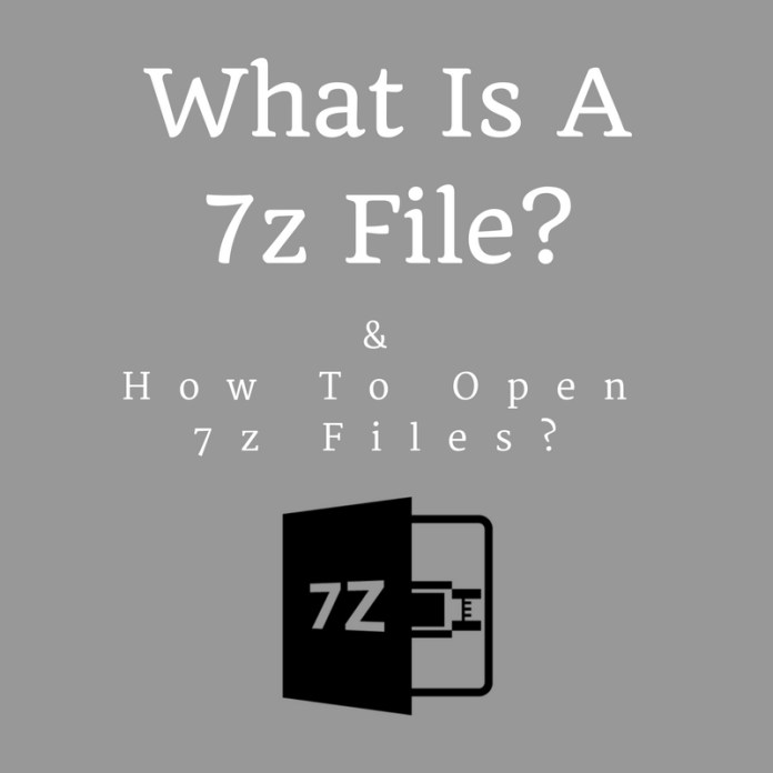 7z files