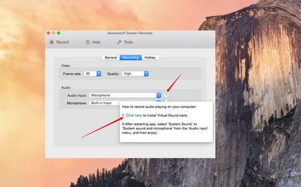 screen recorders for mac - apowersoft