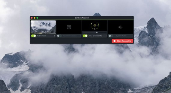 screen recorders for mac -camtesia 3