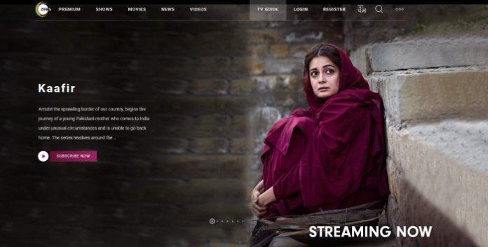 Zee5 Website