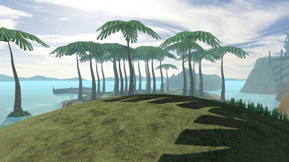 Dodo Adventures Island palm trees Video