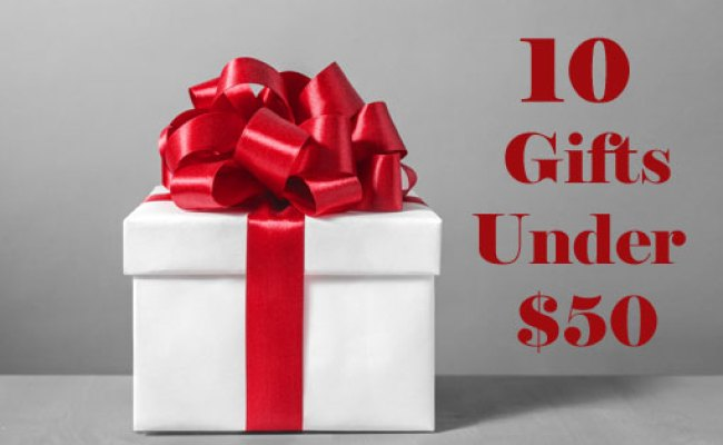 10 Great Gift Ideas Under 50 Techlicious