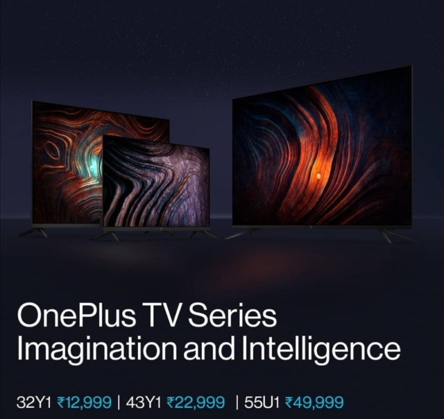 Oneplus Smart tv, affordable tv, cheap, new tv, Y1, U1, Prices Oneplus
