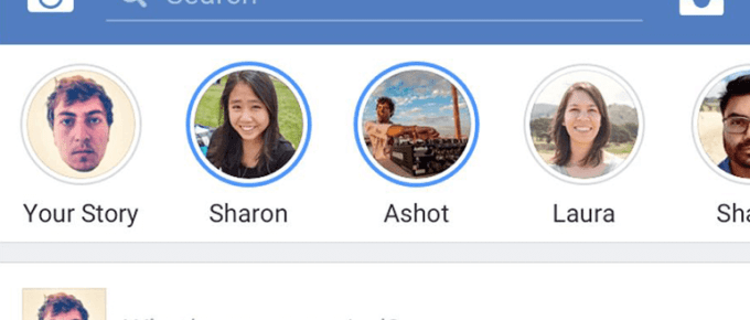 Facebook Mobile App Feeds are going to be more like Snapchat Stories