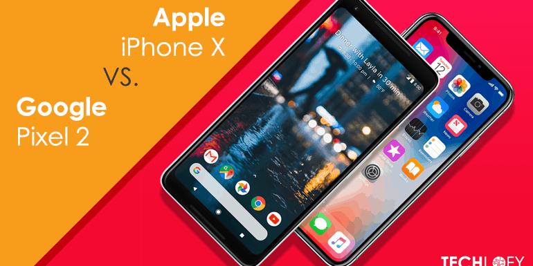 Reasons why Apple iPhone X beats Google Pixel 2