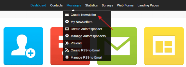 Create-Newsletter-Getresponse