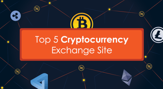 Cryptocurrency Exchange Site